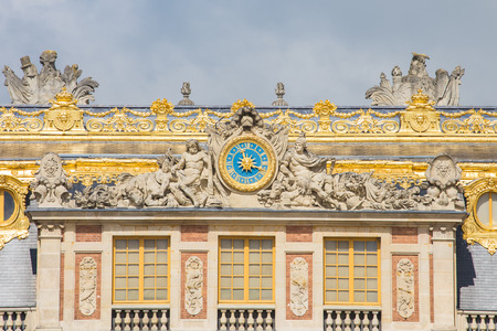 louis the rich heritage: The Palace Versailles was a royal chateau in Paris, France