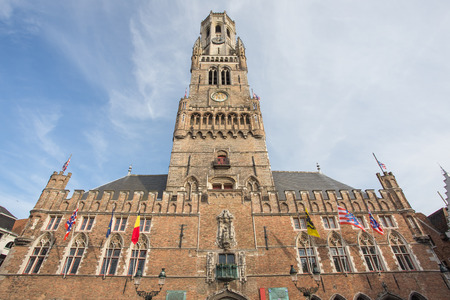 Center Market of Bruges, Belgium