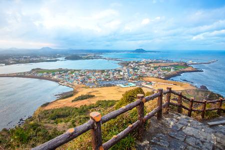 Jeju faire Beach Island, Corée du Sud Banque d'images - 31589137