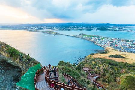 Jeju Island playa do, Corea del Sur Foto de archivo - 31589140
