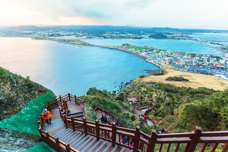 Jeju do Beach Island, Corea del Sud Archivio Fotografico - 31589143