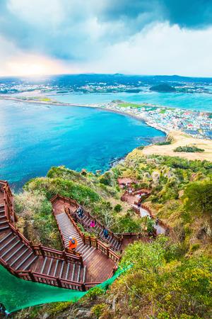Jeju Island Beach do, Corée du Sud Banque d'images - 31593670
