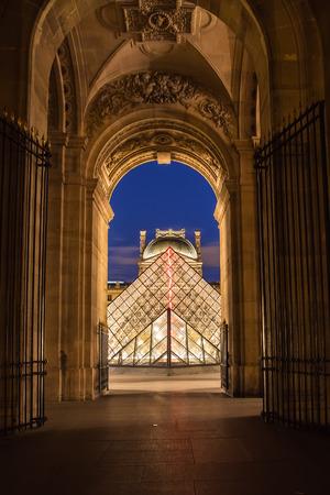 Le Musée du Louvre à Paris, France.