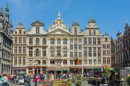 Grand Place in Brussels, Belgium.