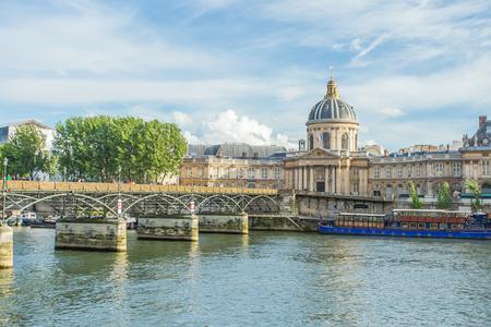 Pont des arts bridge in Paris, France 版權商用圖片