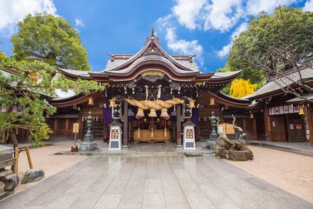 Tocho-ji temple ou temple Bouddha géant Fukuoka à Fukuoka, au Japon. Banque d'images - 35087816