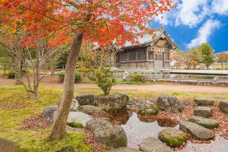 Tenmangu shrine at Dazaifu in Fukuoka, Japan. Foto de archivo