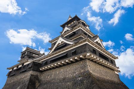 Château Kumamoto dans le nord de Kyushu, au Japon