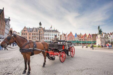 bruges: Travel Belgium Bruges Medieval Town Editorial