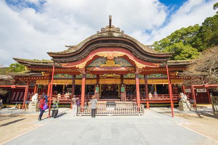 Dazaifu shrine in Fukuoka, Japan Editorial