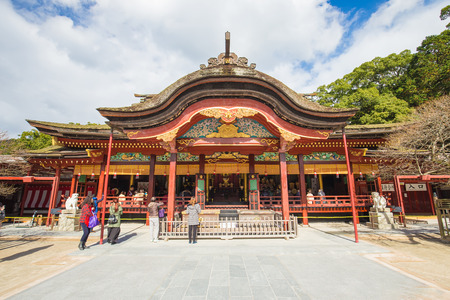 Dazaifu shrine in Fukuoka, Japan Editorial