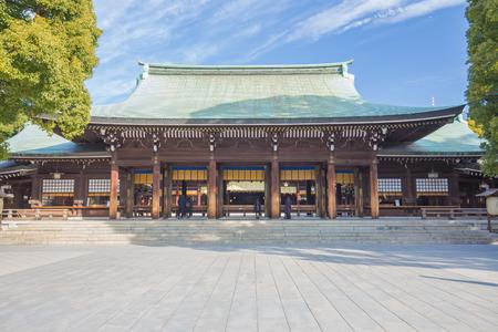 Meiji-jingu à Tokyo, au Japon. Banque d'images - 36979240