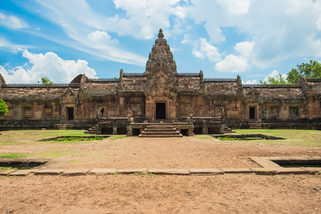 buriram: Phanom Rung Historical Park, sand stone castle in Buriram, Thailand. Stock Photo