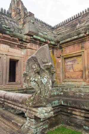 angor: Phanom Rung Historical Park, sand stone castle in Buriram, Thailand. Stock Photo