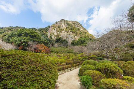 saga: Mifuneyama Rakuen garden in Saga, northern Kyushu, Japan.