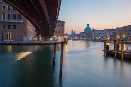 grand canal: Long exposure of grand canal in Venice, Italy