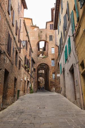 siena: Siena Town in Tuscany Italy.