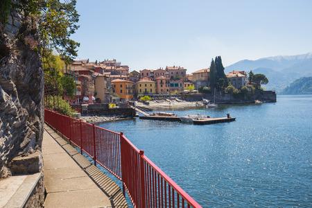Varenna Village in Lake Como Italy.