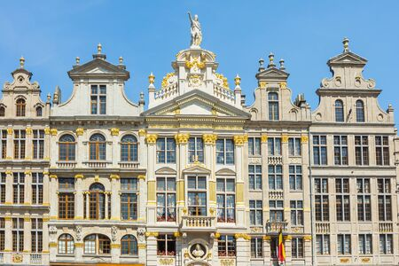 guildhalls: Guildhalls at the Grand Place in Brussels Belgium. Editorial