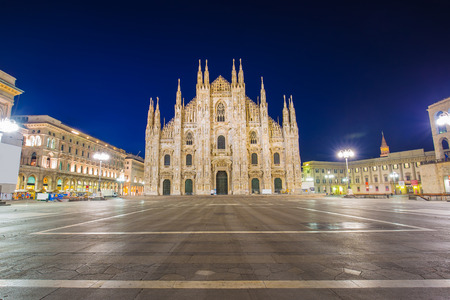 milano: The Duomo of Milan Cathedral in Milan, Italy.