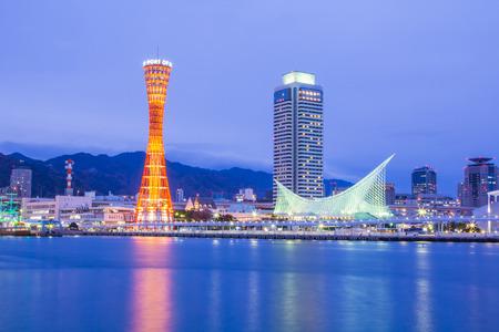 Port of Kobe in Japan.