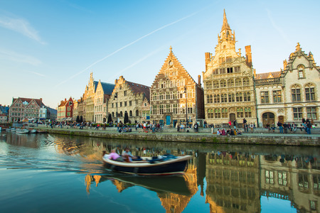 gent: Ghent the medieval town in Belgium.