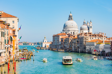 italy: The Grand Canal in Venice, Italy.