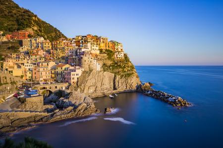 lanscape: Lanscape of Manarola in Cinque Terre, Italy.