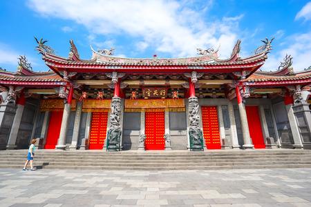 台湾台北行天寺。