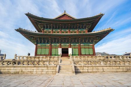 Gyeongbokgung palais à Séoul, Corée du Sud.