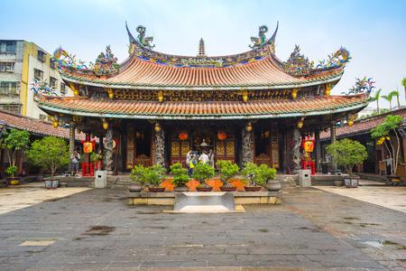 The Dalongdong Baoan Temple in Taipei, Taiwan.