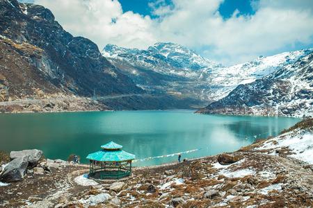 Tsangmo Lake au Sikkim, en Inde. Banque d'images - 64339257