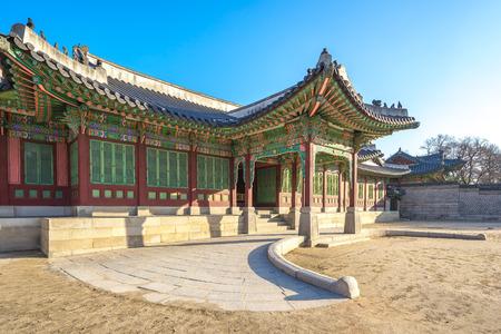 gyeongbokgung: Gyeongbokgung Palace  in Seoul. Editorial