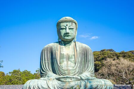 The Giant Buddha or Daibutsu in Kamakura, Japan.