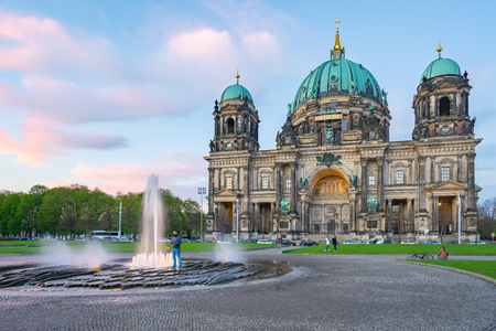 Berlin Cathedral, Berliner Dom in Berlin, Germany. Banque d'images