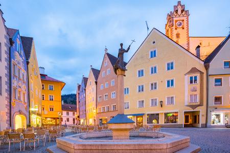 ville de Füssen, en Bavière, en Allemagne.