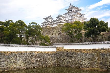 Himeji, Japan - January 4, 2016: The Himeji the famous place in Japan.
