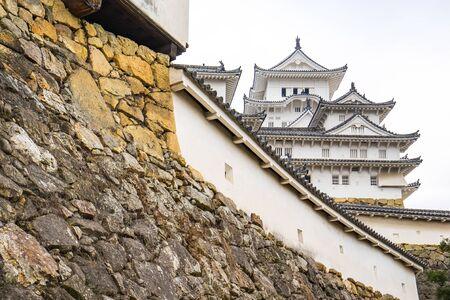 Himeji, Japon - 4 Janvier, 2016: Le Himeji la célèbre place au Japon.