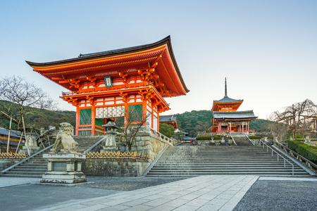 Kyoto, Japan - December 31, 2015: Kiyomizu Dera Temple of Kyoto in Japan