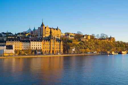 Vieille ville de Stockholm, à Stockholm, en Suède.