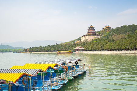 Le Palais d'été à Beijing City, en Chine.