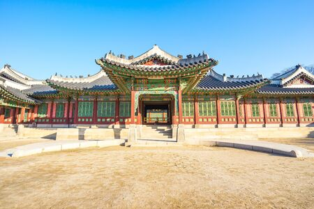 Changdeok Palace in Seoul, South Korea.