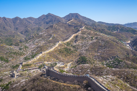 The Great wall (Badaling) in Beijing, China.