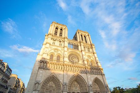 La cathédrale Notre Dame est la cathédrale catholique médiévale de Paris, en France.