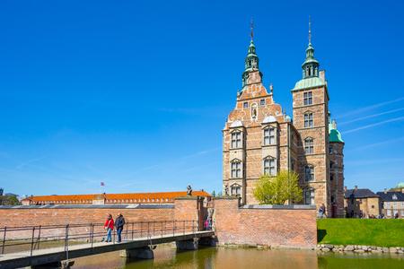 Copenhague, Danemark - 1er mai 2017: Le château de Rosenborg ou la fente de Rosenborg à Copenhague, au Danemark.