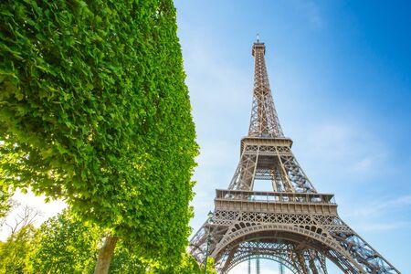 Tour Eiffel à Paris, France. Éditoriale