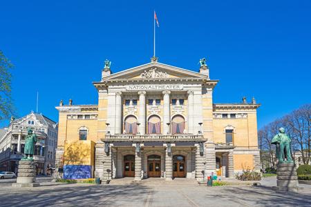 Oslo The National Theatre à Oslo, Norvège. Éditoriale