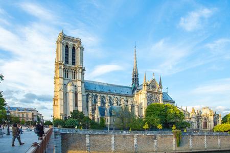 Notre-Dame de Paris en France.