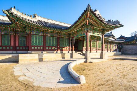 Changdeok Palace à Séoul, République de Corée du Sud.