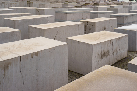 murdered: The Memorial to the Murdered Jews of Europe in Berlin, Germany.